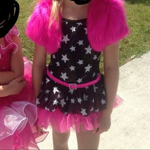 Other - Sassy dance costume—pink and black